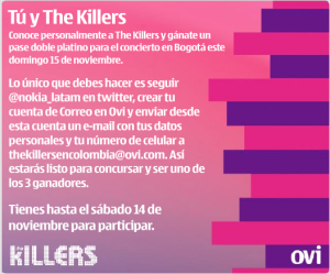 Conoce a The Killers
